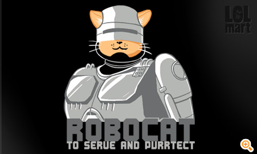 robocat : to serve and purrtect