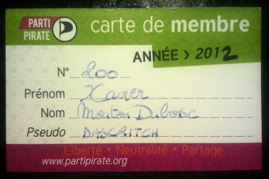 Xavier Mouton-Dubosc, membre n°200