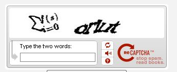 captcha impossible à ré-écrire