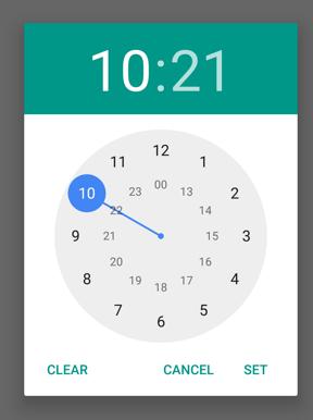 Simulateurs de datation pour Android